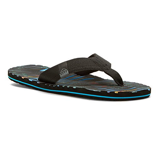 Reef Thermoslice, Sandalias Flip-Flop para Hombre Negro/multi