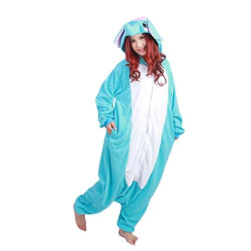 Datangep Unisex Halloween Christmas Cosplay Costume Animal Onesie Pajamas Elephant XL (Elephant Onesies For Adults)