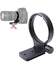 iShoot Tripod Mount Ring for Nikon AF 80-400mm f/4.5-5.6D ED VR, Lens Collar for Nikon AF-S 300mm f/4D IF-ED Lenses-Camera, Lens Tripod Support Holder with Quick Release Plate fit ARCA-Swiss Ball Head