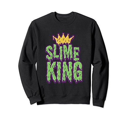 Slime King Balls Accessories Crown Trending Cool Sweatshirt