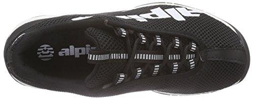 Unisex Alpina Senderismo caña de Zapatillas Trekking Negro Negro Adulto Media de 680267 y SXSqzan