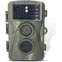 Homestec Hunting Trail Game Camera - Infrared Scouting Cameras 8MP 720P IP66 Waterproof hunter cam…