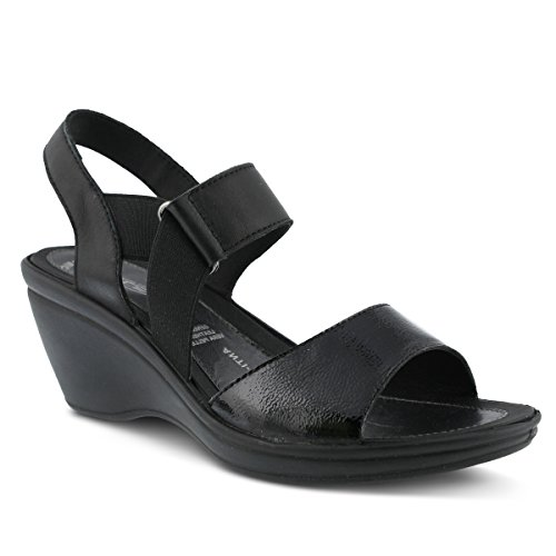 Flexus Kvinners Sp3 Karan Sandal Sort