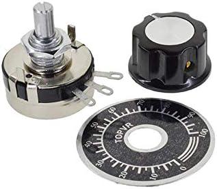 HUIMAI WTH118 DIY Kit Parts 2W 1A Potentiometer 1K 2.2K 4.7K 10K 22K 47K 100K 470K 1M,100K Ohm