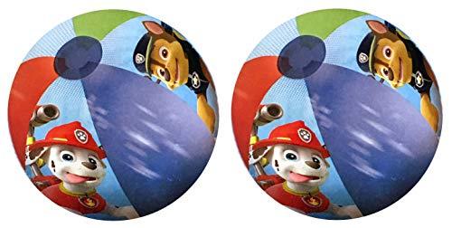 Cartoon Beach Ball - Nickelodeon Paw Patrol Inflatable Beach Balls