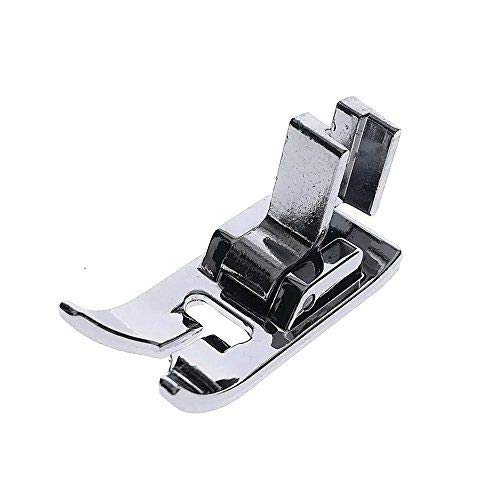 LOW Shank Zig Zag Sewing Machine Presser Foot with Low Shank Adaptor- Fits All Low Shank Singer, Brother, Babylock, Viking (Husky Series), Euro-pro, Janome, Kenmore, White, Bernina (Bernette Series), New Home, Necchi, Elna and More!
