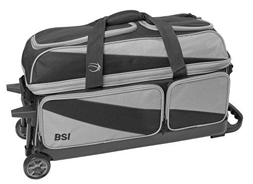 BSI 4304 Triple Roller Bag, Gray/Black