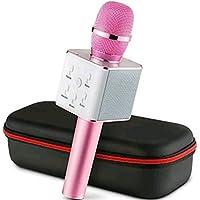 Smilecasters Handheld Wireless Karaoke Singing Mic Speaker Microphone Microphone