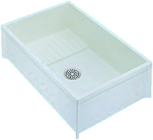 Mustee 65M Service Basin, Large, White