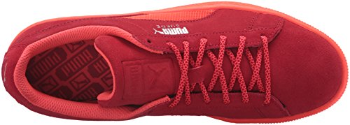 Puma Heren Suede Classic Mesh Fs Future Fashion Sneaker Barbados Cherry / Rood