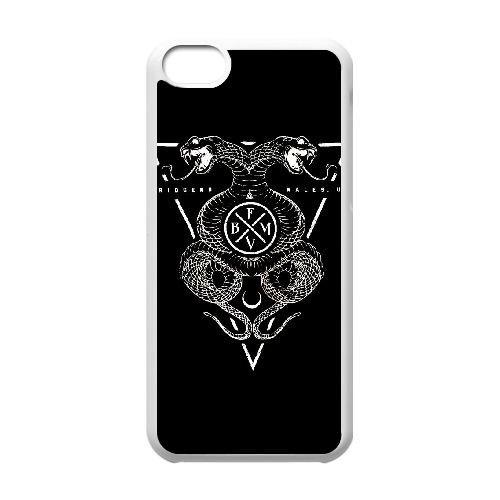 Bullet For My Valentine Venom W1F32G8QK coque iPhone 5c case coque white B70P1T
