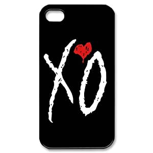 JamesBagg Phone case The Weeknd XO Music For Iphone 4 4S case cover Style 1