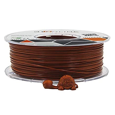 Filamento 3donline Premium PLA 1.75 mm 1 kg marrón: Amazon.es ...