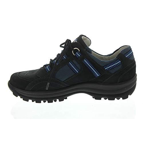 Ville Bleu À Notte De Femme Lacets Waldläufer Chaussures Pour UxgtwtE0