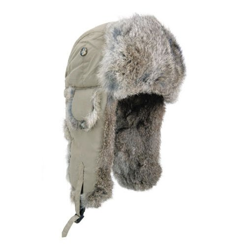 Mad Bomber Original Hat, Large, Khaki