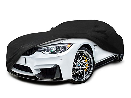 CarsCover Custom Fit 2007-2019 BMW M3 320i 328i 328d 330i 330e 335i 340i Car Cover Heavy Duty All Weatherproof Ultrashield Black 320 328 330 335 340  ()