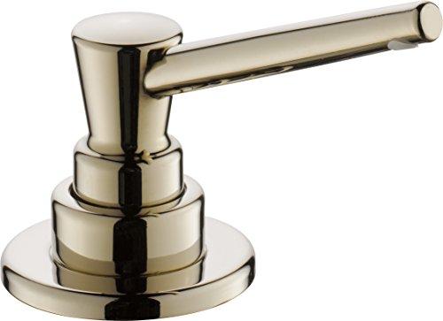 Nickel Polished Soap - Delta Faucet RP1001PN Soap/Lotion Dispenser, Polished Nickel