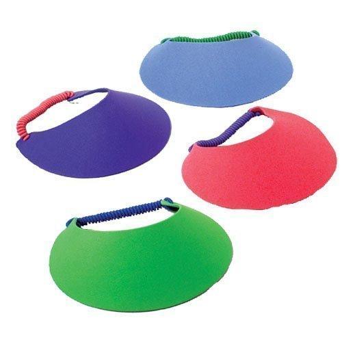 "U.S. Toy 7"" Foam Visors (Assorted Colors) (2-Pack of 12)"
