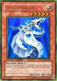 - Yu-Gi-Oh! - Cyber Dragon (GLD1-EN022) - Gold Series 1 - Limited Edition - Gold Rare