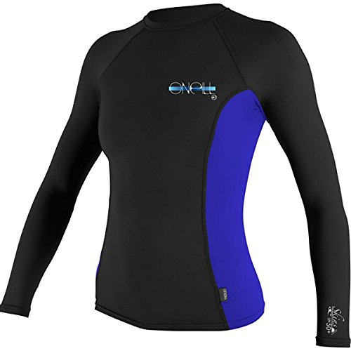 O'Neill Women's Premium Skins Upf 50+ Long Sleeve Rash - Second Skin Wetsuits