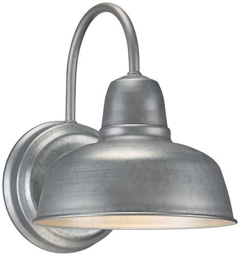 Urban Barn 11 1/4'' High Galvanized Indoor-Outdoor Wall Light by John Timberland