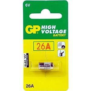 GP Batteries Super Alkaline 26A Alcalino batería no-recargable - Pilas (Alcalino, Verde, 7.7 x 15.3)