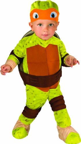 Toddler Michelangelo Costume ...  sc 1 st  Halloween Fun Shoppe & Orange Ninja Turtle Costumes