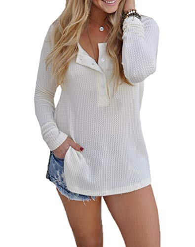 Fashion Tops Automne Fr Blanc Jumper Pulls Blouse Manches Hauts Fox Femmes Sweater Hiver Longues Casual Chandail ulein EqxYrqZ