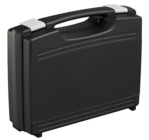 DURATOOL 17026H76.079.GPB Storage Case, Plastic, with Foam, Black, 260mm x 210mm x 76mm
