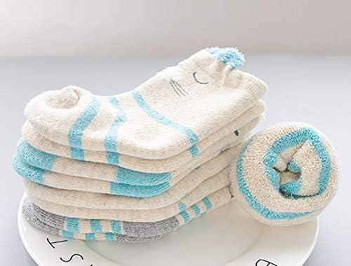 CMDDYY Calcetines de bebé, otoño e Invierno algodón 1 año de Edad 0 ...