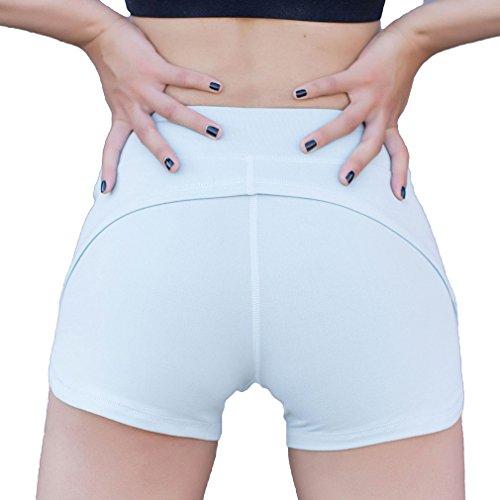 Donna Jogging Da Palestra Vita Elasticizzati Leggings Cinture Yoga Allenamento Traspiranti Fitness Juleya Alta Sportive Collant Boxer Pantaloncini Per Ginnastica Grigio 8Y5nxwSt