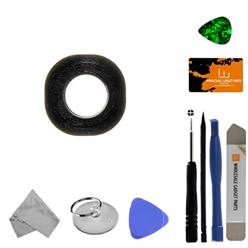 Camera Lens for LG G4 (White) (Glass) with Tool Kit by Wholesale Gadget Parts
