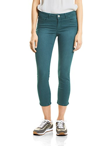 Slim Jean Street Green Soft Teal Vert 11374 Femme One Wash CqwZw5E