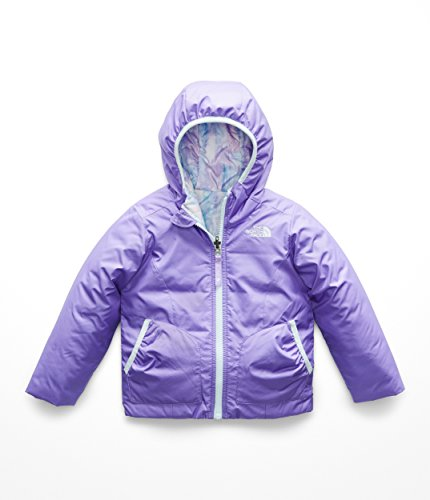 The North Face Kids Baby Girl's Reversible Perrito Jacket (Toddler) Dahlia Purple 4T