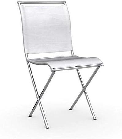 Sedie Pieghevoli Calligaris Design.Sedia Pieghevole Design Air Folding Struttura In Acciaio Cromato