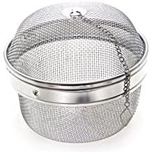 """Time Roaming 5.1""""D Stainless Steel Mesh Spice Ball Tea Ball Herb Infuser"""