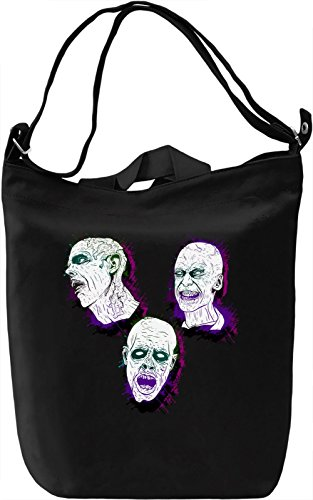 Colorful Zombies Borsa Giornaliera Canvas Canvas Day Bag| 100% Premium Cotton Canvas| DTG Printing|