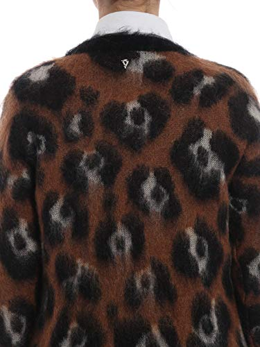 Donna Mohair Misto Jacquard Animalier In Maglione Y4wAY
