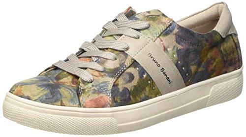 Bruno Banani Halbschuh - Zapatos de cordones derby Mujer Varios Colores - Mehrfarbig (Grey Multi 299)