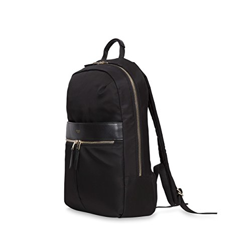 Knomo Luggage Women's Mayfair Nylon Beauchamp 14' Backpack, Black, One Size