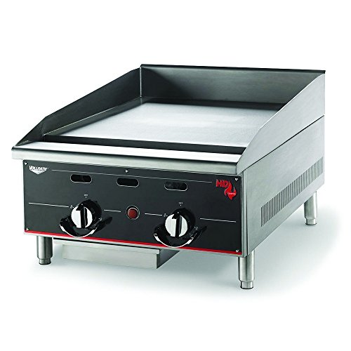 Vollrath (924GGM) 24'' Heavy-Duty Flat Top Griddle - Cayenne Series by Vollrath