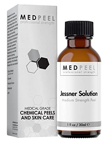 Medpeel Jessner 14% Salicylic Acid, Lactic Acid, and Resorcinol Peel 2 oz CSC Spa KD-8908 Bio Wave Eye Wrinkle Remover