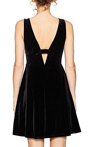 Schwarz ESPRIT 001 Damen Black Kleid EqznEraw