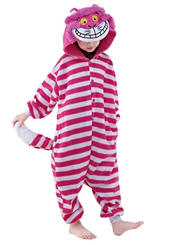 Cheshire Cat Costumes For Kids - NEWCOSPLAY Kids Anime Cosplay Costume Onesies