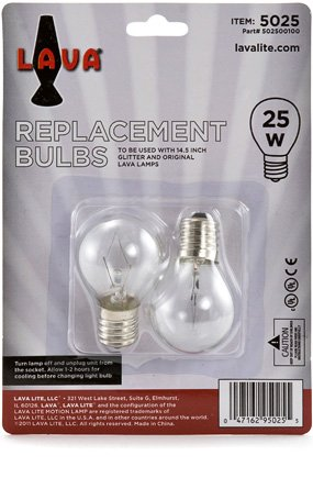 Lava Lamp Replacement Bulb 25 Watt Replacement Bulb For 14 5 20 Oz