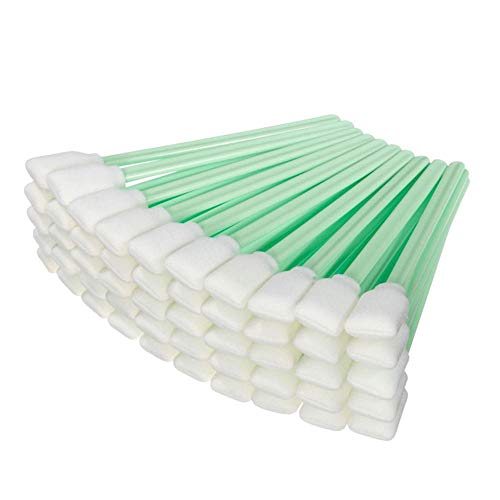 Printer Parts - 300 pcs Soft, Foam-Tipped Cleaning swabs to Clean The Ink from Capping Stations, Wipers, Print Heads
