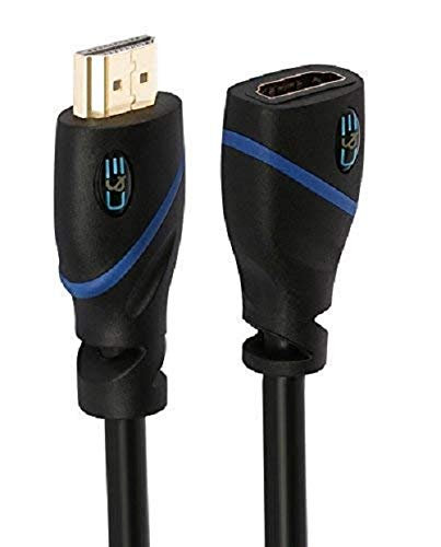 Cable HDMI Macho/Hembra C&E 4K ARC 1.8mt [1un.]