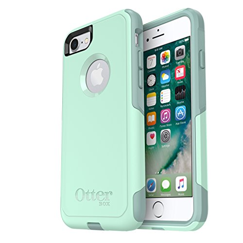 Aqua Case - OtterBox COMMUTER SERIES Case for iPhone 8 & iPhone 7 (NOT Plus) - Frustration Free Packaging - OCEAN WAY (AQUA SAIL/AQUIFER)