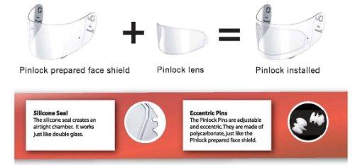 e72b8220 Shoei Pinlock Anti-Fog Lenses for X-11, RF-1000, TZ-R, - Import It All