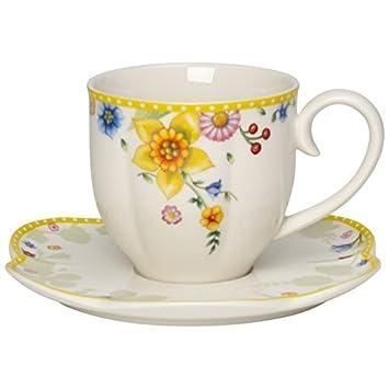 Villeroy /& Boch Spring Awakening Spring Awakening Kaffee-Obertasse Blumenwiese